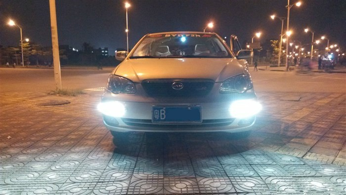use 120 leds to make a perfect DRL-33