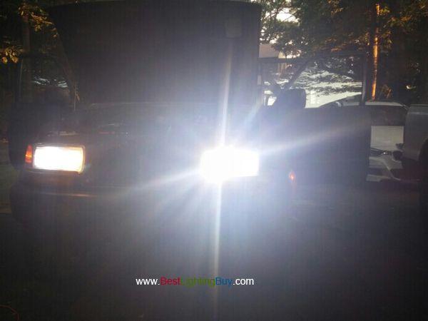 3200LM Lampe Ampoule pour Kits de Phares pour Voitures MERUI 9006 Ampoules Phares LED 6000K Conversion de Rechange Auto Eclairage Feu Lumi/ère pour Voiture V/éhicule Automobile