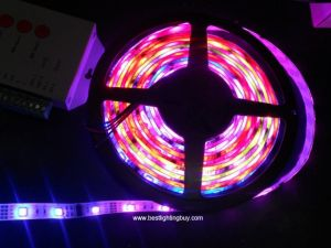 12V WS2801 Digital Intelligent LED Strip, 180 LEDs, 16.4 Ft/reel, Sold by Reel