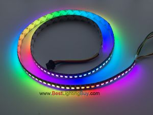 144 LED/M APA102 Digital RGB LED Strip, DC5V, Sold by Meter