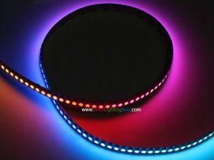 144 LED/m APA104 Digital Intelligent RGB LED Strip, DC5V, Sold by Meter