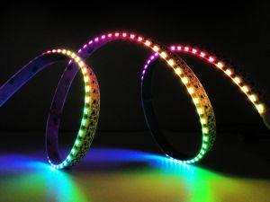 144 LED/m SK6812 Side Emitting LED Strip, DC5V, 1m