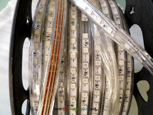 164Ft 120V AC Driverless Waterproof RGB SMD5050 LED Strip