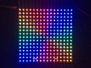 16x16 Flexible WS2812B Intelligent Addressable RGB LED Matrix