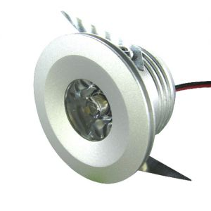 3 Watt  LED Recessed Down Lighting, 140 Lumens
