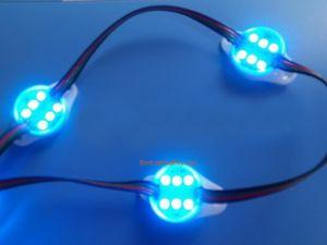 LPD6803 LED RGB Digital Point Modules, DC12V , Strand of 20 Pcs