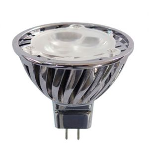 1X3 Watt  MR16 GU 5.3 LED Spotlight, 140 Lumen