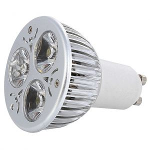 3X1 Watt GU10 LED Spotlight,  20 Watt Halogen Bulb Replacement