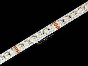 4-in-1 (Quad Chip) RGBW Flexible LED Strip, 96 LED/M, 24V, 5M/Reel