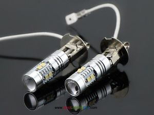 50W CREE H3 LED Driving Fog Running Light Bulb, Pack of 2