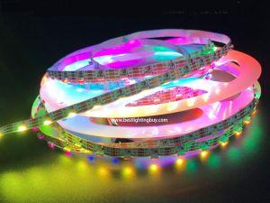 60 LED/m SK6812 Digital RGB LED Side Light Strip, DC5V, 4m