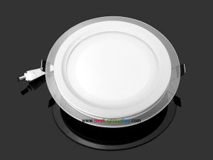 "6"" Round 12W Recessed Ceiling LED Panel Light with Glass Mask"