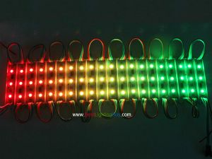 75mm WS2801 Digital Addressable 3 RGB LED Pixel Bar, 12V, Strand of 20