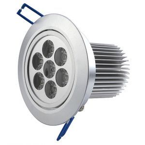 7 Watt LED Recessed Downlights, 30 degree Beam Angle
