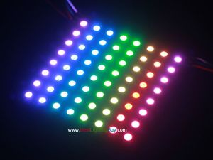 8x8 Flexible WS2812B Intelligent Addressable RGB LED Matrix