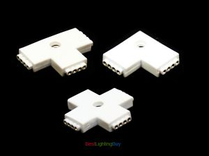 """+"",""L"",""T""  Shape 4Pin Female RGB Connector"