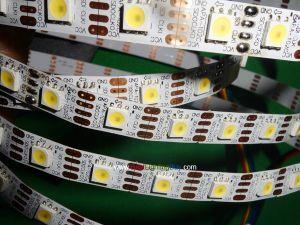 APA102 Digital White Addressable LED Strip, 60 LED/m, 4m/roll, DC5V