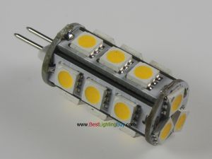 Back Pin Tower G4 Lamp with 18 SMD5050 LEDs,12V AC/DC
