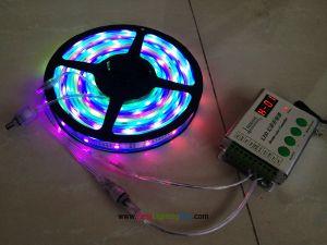 Digital Intelligent TM1812 RGB LED Light Strip, 160 LEDs, DC 12 Volt