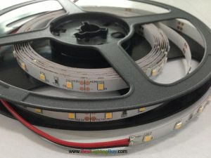 Dimmable SMD2835 Flexible LED Light Strip,  60 LED/M, 5M/reel, 12VDC