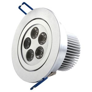 15 Watt Recessed CREE LED Downlight, AC 100-240 Volt, 680 Lumen