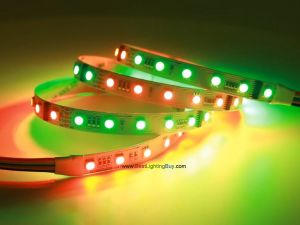 DMX512 RGB 5050 LED Light Strip, 60/m, 5m, 24V
