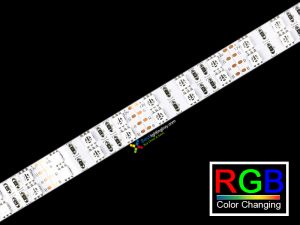 Double Row LED Strip RGB 5050, 120 LEDs/m, 5m, 12VDC