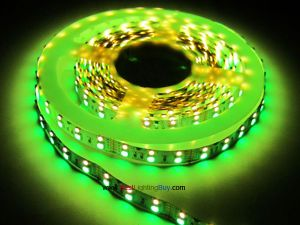 Double Row RGB + Warm White 5050 SMD Flex LED Strip,  120 LED/M, 12V/24V DC, 5M/Reel