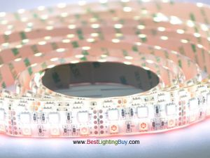 Double Row RGB+White 5050 SMD Flex LED Strip, 120 LED/M, 12V/24V DC, 5M/Reel
