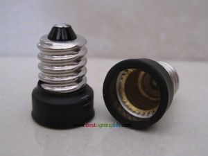 E14 to E12 Bulb Socket Adapter Converter