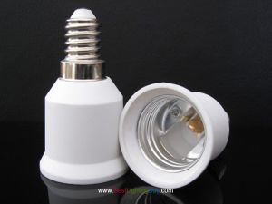 E14 to E26/E27 Base Bulb Socket Adapter Converter