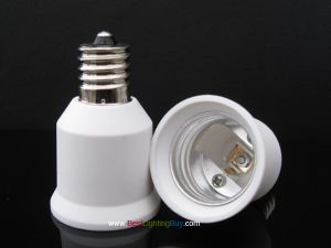 E17 to E26/E27 Screw Base Lamp Base Adapter Converter