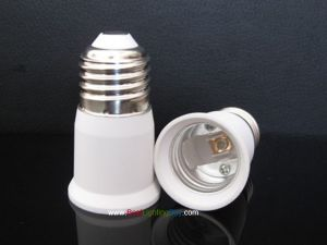 E26/E27 to E26/E27 Lamp Bulb Socket Extender Adapter