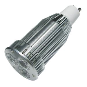 3X3 Watt GU10 LED Spotlight, 40 Watt Halogen Bulb Replacement