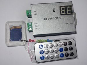 H805SB SD Card Digital Strip/Pixels Controller with IR Remote
