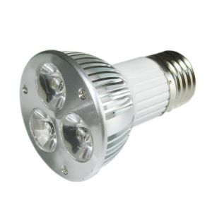 3X1 Watt E27 LED Spot Light Bulb