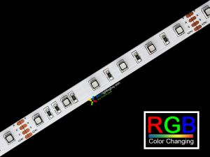 LED Strip RGB 3535, 120 LEDs/m,  5m, 24V