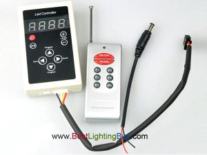 LPD6803 Digital LED Controller with RF Remote for LPD6803 RGB LED Strip and Pixels