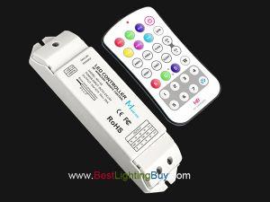 M8 + M4-5A Mini Handheld RGBW LED Remote & Receiver Kit, 5-24VDC 5A/CH