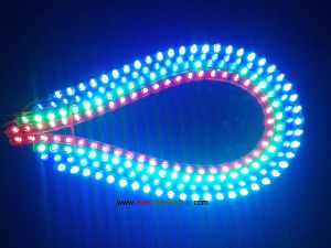 "Motorcycle LED Strip, Car Lights Flexible Grill Light, 12V DC, 9.5""/19""/38""/47.5"" Available"