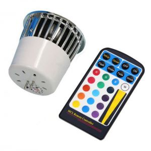 1X5 Watt  Remote Controlled Color Changing MR16 LED Bulb