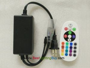 RGB Driverless LED Strip Controller with IR Remote