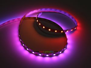SK6812 RGB Addressable LED Strip, 60 LEDs/m, 4m/reel, Sold by Reel