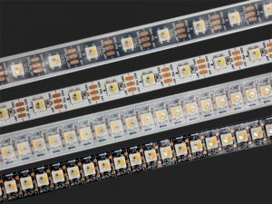 SK6812 RGBW Addressable LED Strip, DC5V, 144/60/30 LEDs/m Density Available