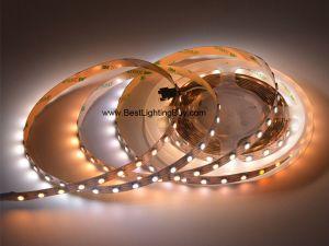 SK6812WWA Addressable White Color Temperature Adjustable LED Strip, 60 LED/M, 5V DC