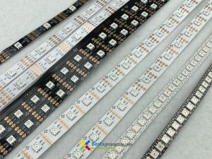 SK9822 RGB Addressable LED Strip,  144/60/30 LEDs/m Density Available