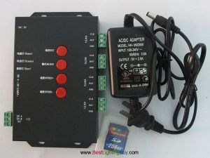 T-4000S SD Card Digital RGB LED Strip Controller