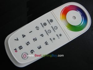 T4 Color Wheel RGBW 8 Zone Programmable Controller (Remote Control)