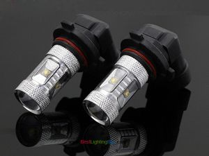 25W CREE 9005 9006 LED Projector HeadLamp Bulb, Pack of 2