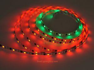 TLS3001 Digital RGB LED Strip, 16.4Ft, DC5V, 160 SMD 5050 LEDs